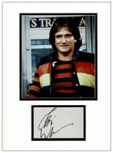 Robin Williams Autograph Signed - Mork and Mndy