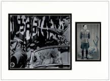 Rochus Misch  Autograph Signed Display - Hitler's Bodyguard