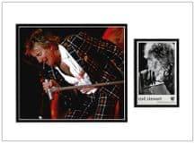 Rod Stewart Autograph Signed Photo