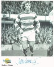 Rodney Marsh Autograph Signed Photo - QPR