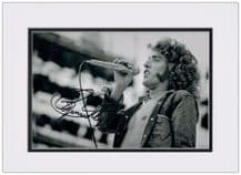 Roger Daltrey Autograph Photo Signed - The Who