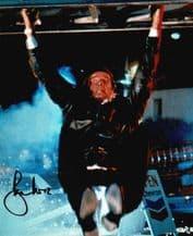 Roger Moore Autograph Photo - James Bond