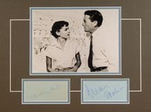 Roman Holiday Autograph Display