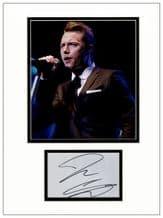 Ronan Keating Autograph Signed Display