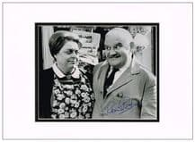Ronnie Barker Signed Photo - Open All Hours