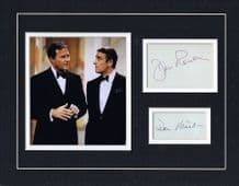 Rowan & Martin's Laugh-In Autograph Signed Display