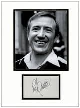 Roy Castle Autograph Signed Display