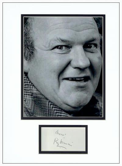 Roy Kinnear Autograph Signed Display