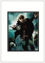 Rupert Grint Autograph Photo