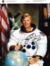 Rusty Schweickart Autograph Photo Signed - Apollo 9
