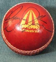 Ryan Sidebottom Autograph Signed Cricket Ball