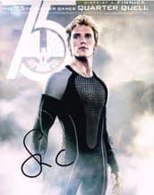 Sam Claflin Autograph Signed Photo - Hunger Games