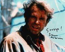 Sam Neill Autograph Signed Photo - Jurassic Park