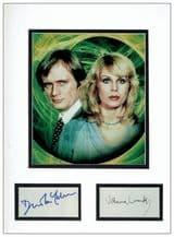 Sapphire & Steel Autograph Signed Display - Lumley & McCallum