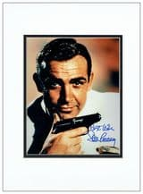 Sean Connery Autograph Signed Photo - James Bond 007
