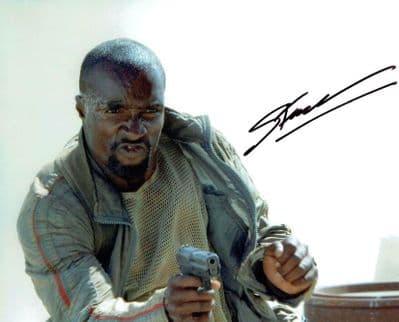 Sebastien Foucan Autograph Signed Photo - Casino Royale