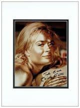 Shirley Eaton Signed Photo - Jill Masterson