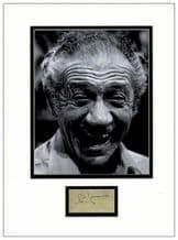 Sid James Autograph  - Carry On