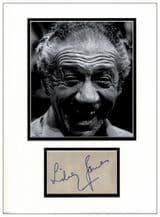 Sid James Autograph Display - Carry On