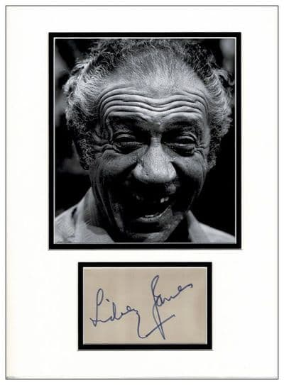Sid James Autograph Display - Carry On