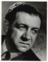 Sid James Autograph Signed Photo - Carry On