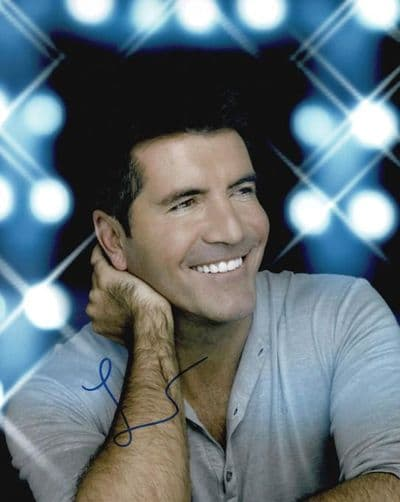 Simon Cowell Autograph Signed Photo - The X Factor