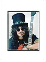 Slash Autograph Signed Photo - Guns N Roses