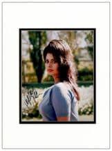 Sophia Loren Autograph Photo Signed