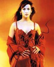 Sophie Marceau Autograph Signed Photo