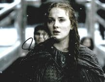 Sophie Turner Autograph Photo - Sansa Stark