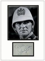 Stanley Baker Autograph Signed - Zulu
