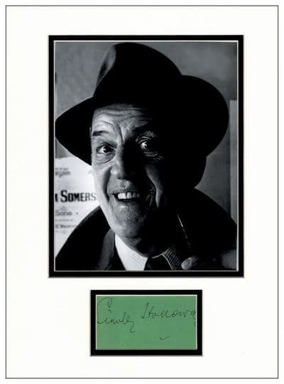 Stanley Holloway Autograph Signed