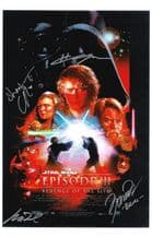 Star Wars Revenge of the Sith  Autograph Signed Photo