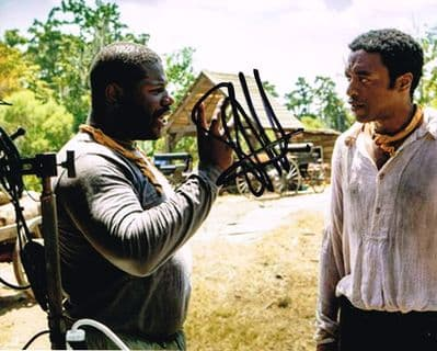 Steve McQueen Autograph Signed Photo - 12 Years A Slave