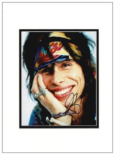 Steven Tyler Autograph Signed Photo - Aerosmith