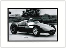 Stirling Moss Autograph Photo - Formula 1