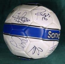Sunderland AFC 2010/11 Squad Autograph Signed Football