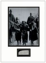 Sylvia Pankhurst Autograph Signed Display