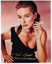 Tania Mallet Autograph Signed Photo