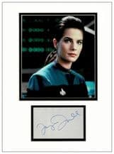 Terry Farrell Autograph Signed Display - Deep Space Nine