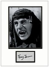 Terry Jones Autograph Display - Life of Brian