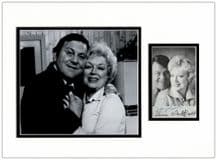 Terry Scott and June Whitfield Signed Photo  Display