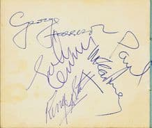 The Beatles Autograph Signed
