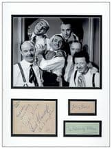 The Crazy Gang Autograph Signed Memorabilia