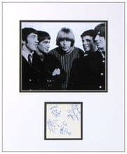 The Easybeats Autograph Signed Display - Friday On My Mind
