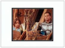 The Fetts Autograph Signed Photo - Star Wars