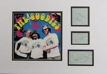 The Goodies Autograph Signed Display