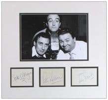 The Goons Autograph Signed Display - Sellers, Milligan, Secombe