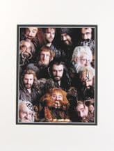 The Hobbit Cast Autograph Signed Photo