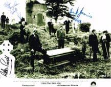 The Italian Job Cast Signed Photo